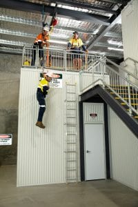 Working at Heights Training Simulation